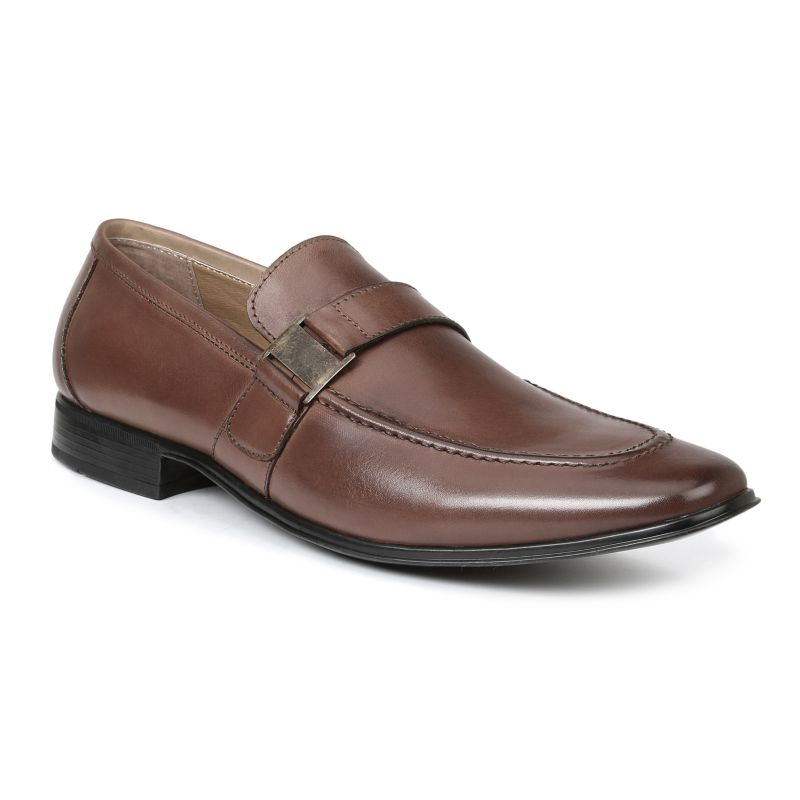 Giorgio Brutini Santos Men's Slip-On Dress Shoes, Size: medium (7), Red/Coppr (Rust/Coppr) thumbnail