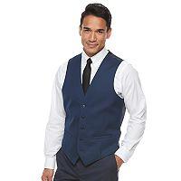 Men's Apt. 9® Slim-Fit Stretch Blue Suit Vest