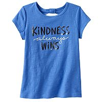 Girls 4-10 Jumping Beans® Keyhole Back Graphic Tee