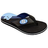 Men's College Edition North Carolina Tar Heels Flip-Flops
