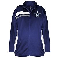 Plus Size Majestic Dallas Cowboys Fleece Jacket