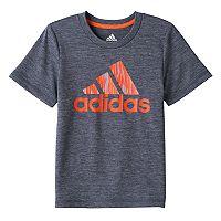 Boys 4-7x adidas Logo climaLite Tee