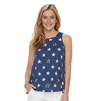 Women's SONOMA Goods for Life™ Patriotic Print Swing Tank