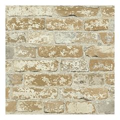 Roommates Faux Brick Peel & Stick Wallpaper Wall Decal  by