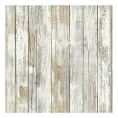 Roommates Faux Distressed Wood Peel & Stick Wallpaper Wall Decal  by
