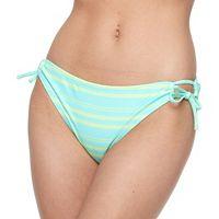 Mix and Match Side-Tie Scoop Bikini Bottoms