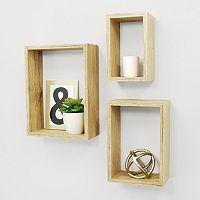 Kiera Grace Nesting Wall Shelf 3-piece Set