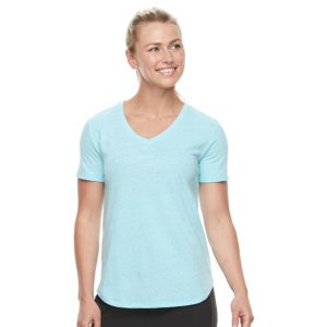 Petite Tek Gear® Easy V-Neck Workout Tee