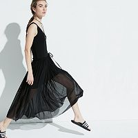 k/lab Mesh Maxi Dress