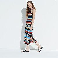 k/lab Striped Knit Maxi Dress
