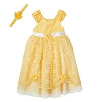 Girls 4-6x Disney Princess Belle Costume Dress
