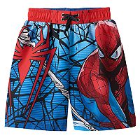 Boys 4-7 Marvel Spider-Man Swim Trunks