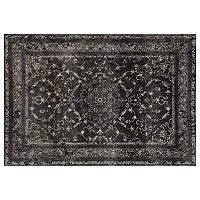 Art Carpet Chelsea Treasure Framed Floral Rug