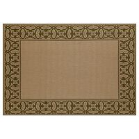 Art Carpet Plymouth Conversing Framed Geometric Indoor Outdoor Rug