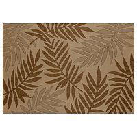 Art Carpet Plymouth Resting Leaf Indoor Outdoor Rug