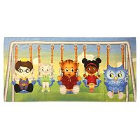 Out Of The Blue Daniel Tiger Swing Set Printed Beach Towel