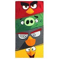 Rovio Angry Birds Rage Time Printed Beach Towel