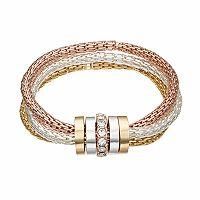 Jennifer Lopez Mesh Multi Strand Stretch Bracelet