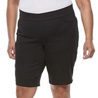 Plus Size Napa Valley Pull-On Bermuda Shorts