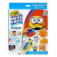 Despicable Me Crayola Color Wonder Stampers Set