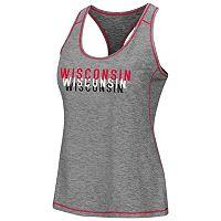 Women's Campus Heritage Wisconsin Badgers Race Course Tank