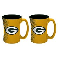 Boelter Green Bay Packers Mocha Coffee Mug Set