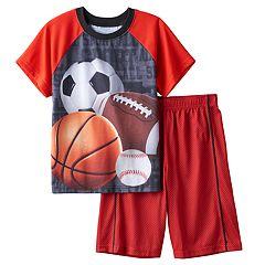 Boys Jelli Fish 2-Piece Pajama Set