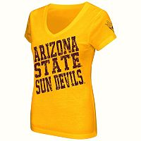 Juniors' Campus Heritage Arizona State Sun Devils Shoutout V-Neck Tee