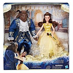 Disney's Beauty and the Beast Grand Romance Doll Set by Hasbro by