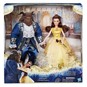 Disney's Beauty and the Beast Grand Romance Doll Set by Hasbro