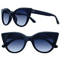 LC Lauren Conrad 49mm Owl Cat-Eye Gradient Sunglasses