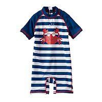 Baby Boy Wippette One-Piece Rashguard Swimsuit