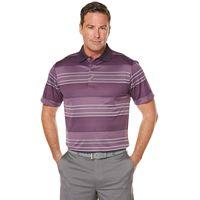 Men's Grand Slam Regular-Fit Ombre Striped Performance Golf Polo