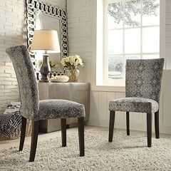 HomeVance Denargo Printed Side Chair 2-piece Set  by
