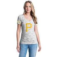 Women's Pittsburgh Pirates Space-Dyed Tee