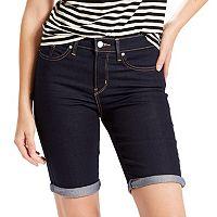 Women's Levi's Cuffed Jean Bermuda Shorts