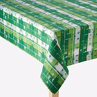 Celebrate St. Patrick's Day Together Shamrock Jacquard Tablecloth
