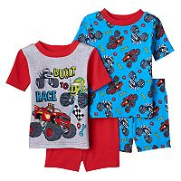 Toddler Boy Blaze and the Monster Machines 4-pc. Blaze, Zeg & Darrington Pajama Set