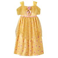 Disney's Beauty and the Beast Belle Toddler Girl Floral Nightgown