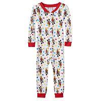 Disney's Mickey Mouse Baby Boy One-Piece Pajamas
