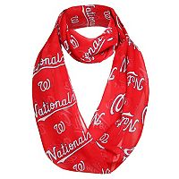 Women's Forever Collectibles Washington Nationals Logo Infinity Scarf