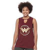 Juniors' Plus Size DC Comics Wonder Woman Shield Graphic Tank