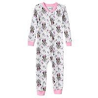 Disney's Minnie Mouse Toddler Girl One-Piece Pajamas