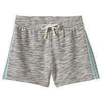 Girls 7-16 SO® Tie-Dye Drawstring Shortie Shorts