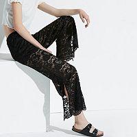 k/lab Lace Flare Leg Pants
