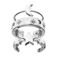 Mudd® Celestial Toe Ring Set