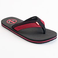 Men's Marvel Deadpool Flip-Flops