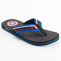 Men's Marvel Captain America Flip-Flops