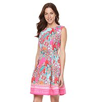 Women's Ronni Nicole Paisley Floral Fit & Flare Dress