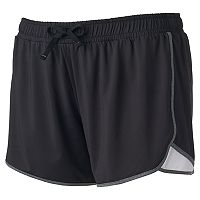 Juniors' Plus Size SO® Soft Running Shortie Shorts